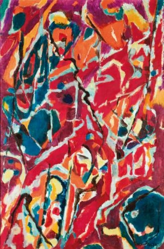 L'automne en Virginie, 1953 - Jean Bazaine