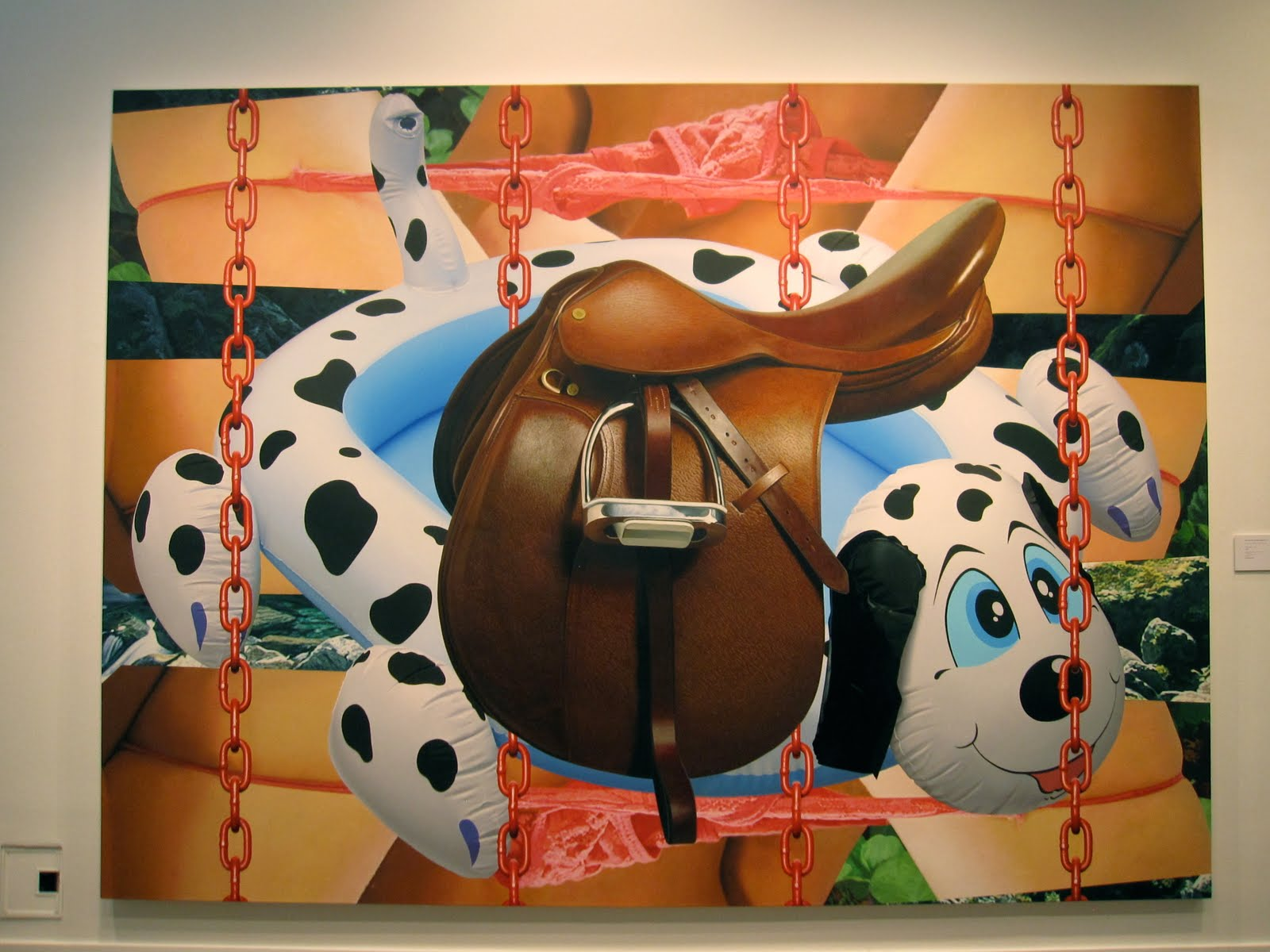 Saddle, 2003 - Jeff Koons - WikiArt.org