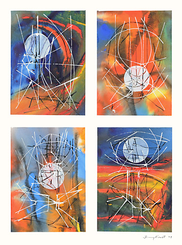 Four Days, 1979 - Jimmy Ernst