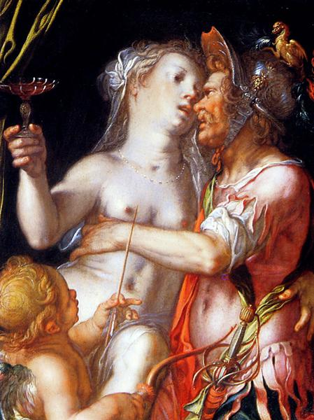 Aphrodite Ares and Eros Sun, 1600 - Йоахим Эйтевал