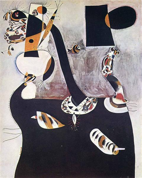 Seated Woman II, 1938 - Joan Miró