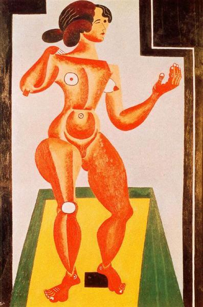 Standing Nude, 1921 - Joan Miro