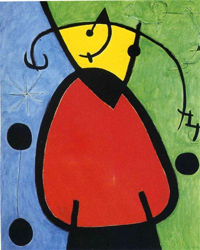 The Birth of Day - Joan Miro