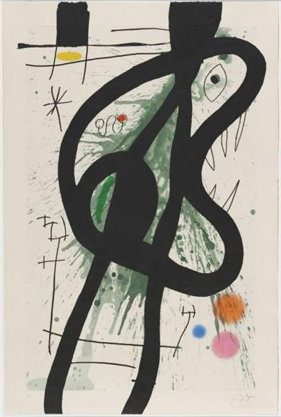 The Great Carnivore, 1969 - Joan Miro