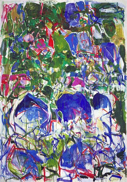 My Landscape II, 1967 - Джоан Митчелл