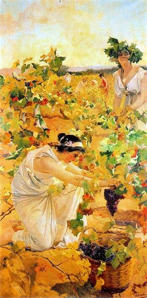 Grape Harvest - Joaquín Sorolla