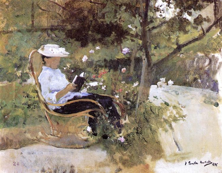 In the Garden, 1896 - Joaquín Sorolla