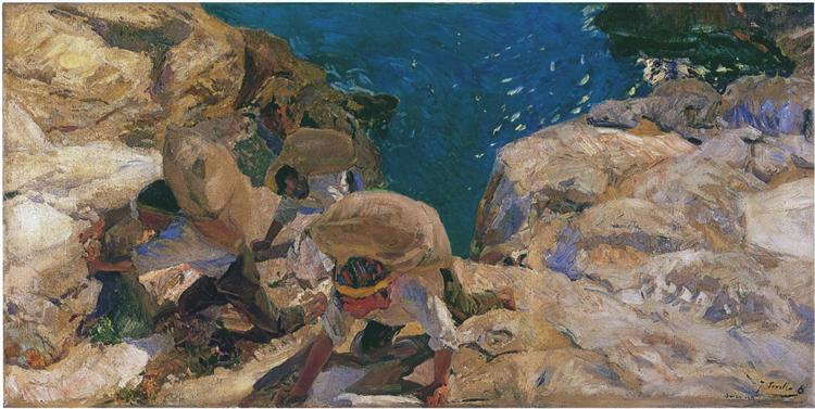The Smugglers, 1919 - Хоакин Соролья