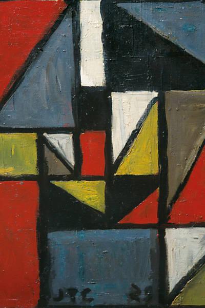 Constructivo en Triángulo, 1929 - Хоакін Торрес Гарсія