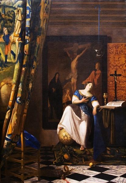 Allegory on Faith, 1671 - c.1674 - Johannes Vermeer