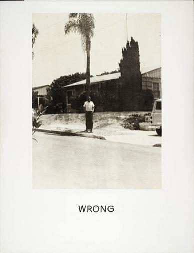 Wrong, 1967 - John Baldessari