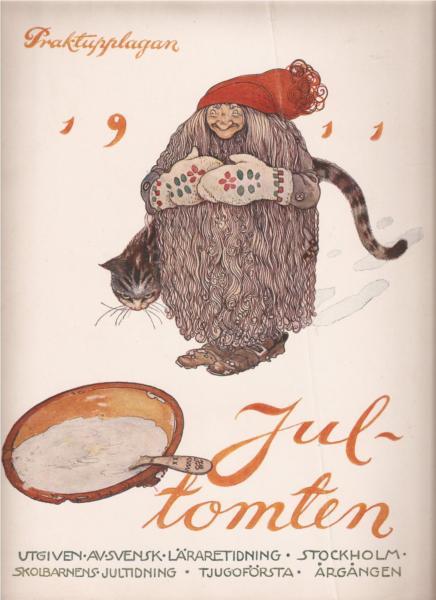 Jultomten, 1911 - John Bauer