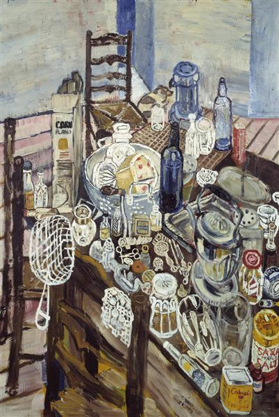 Still Life with Chip Frier, 1954 - John Bratby