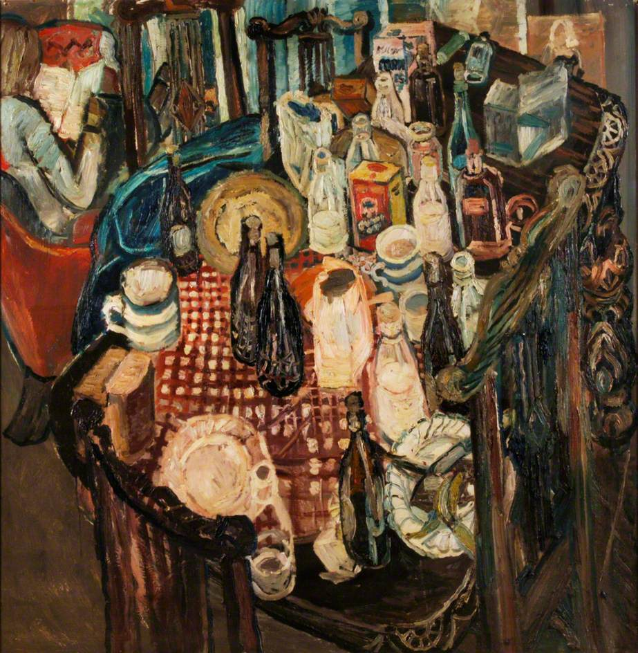 Table Top 1955 John Bratby Wikiart Org
