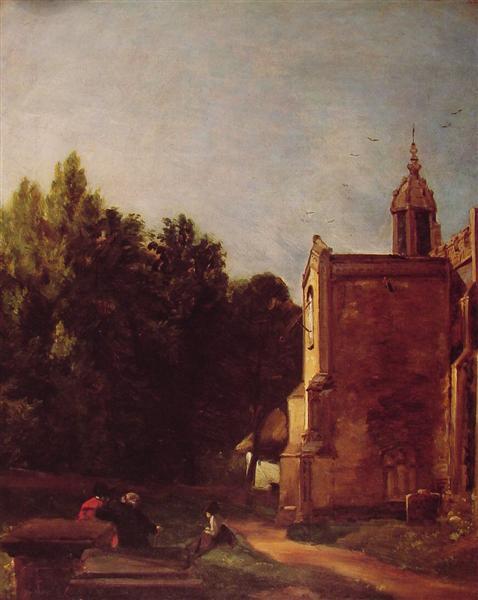 A Church Porch, 1810 - John Constable