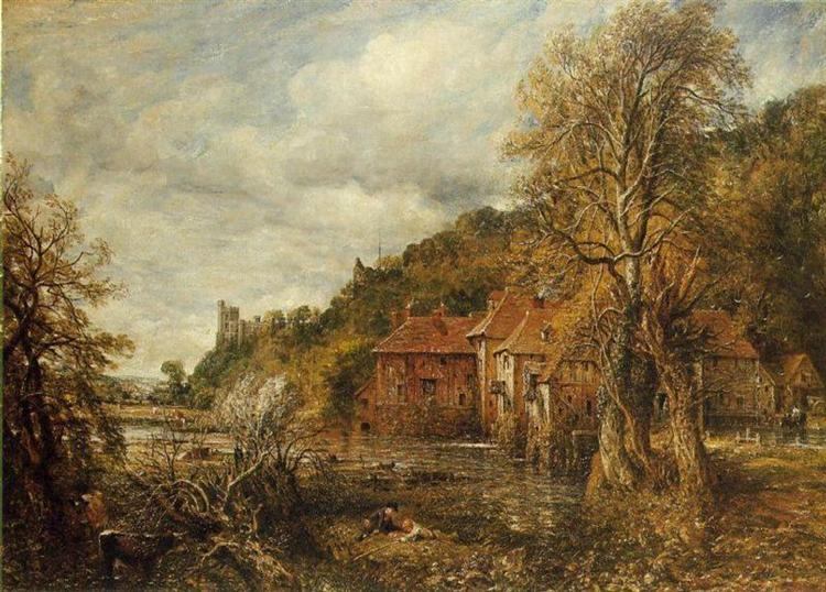 Arundel Mill and Castle, 1837 - John Constable