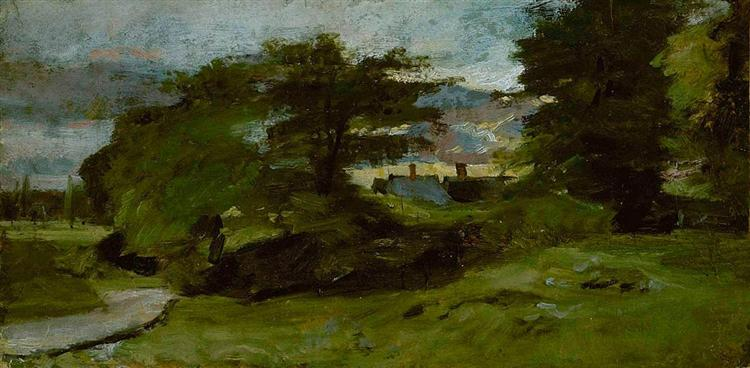 Landscape with Cottages, 1810 - John Constable