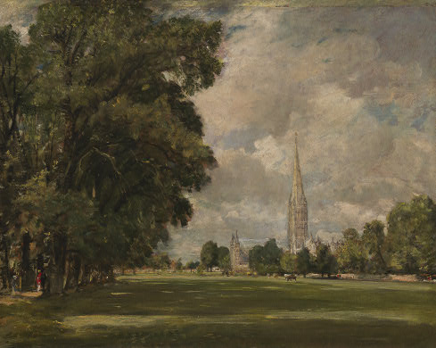 Salisbury Cathedral from Lower Marsh Close, 1820 - John Constable