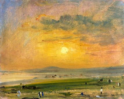 Shoreham Bay, Evening Sunset - John Constable