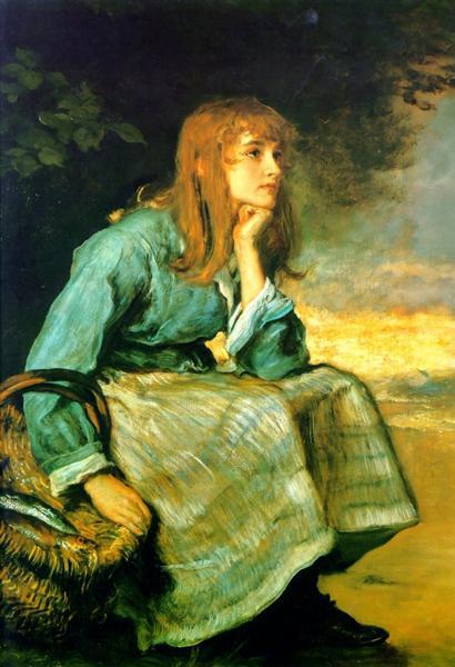 Caller Herrin', 1881 - John Everett Millais