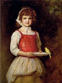 Merry - John Everett Millais