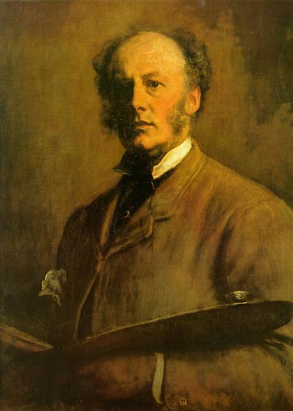 Self-Portrait - John Everett Millais