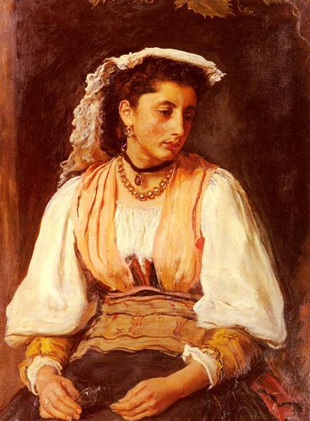 Sir John Everett Pippa - John Everett Millais