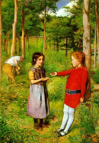 The Woodman's Daughter, 1851 - John Everett Millais
