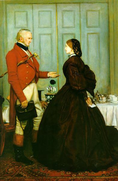 Trust Me, 1862 - John Everett Millais