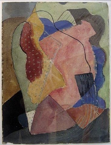 St. Tropez (Abstract), 1929 - John Ferren
