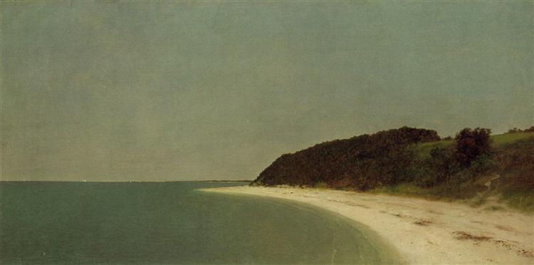 Eaton's Neck, Long Island, c.1872 - John Frederick Kensett