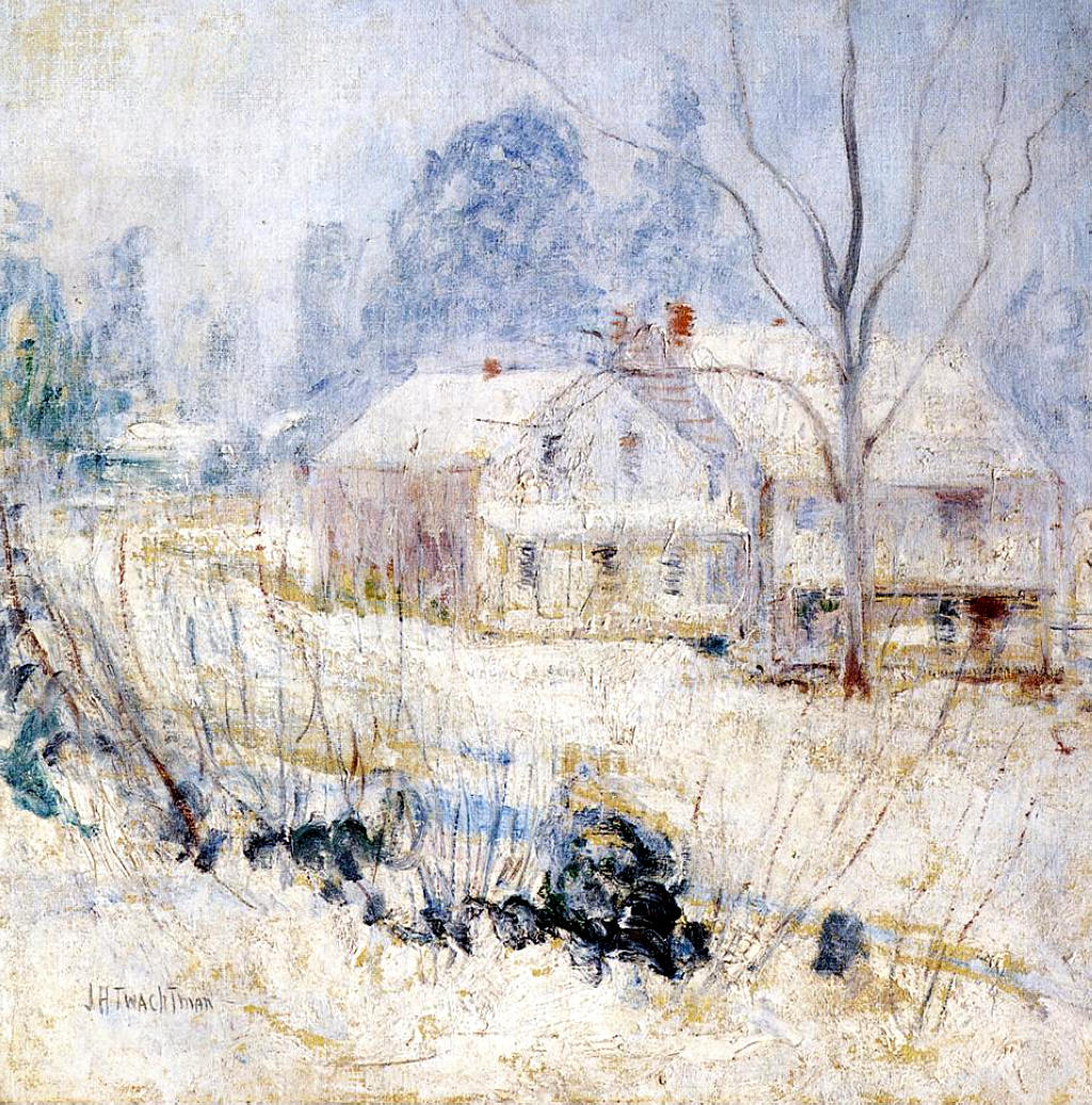 Country House In Winter, 1891