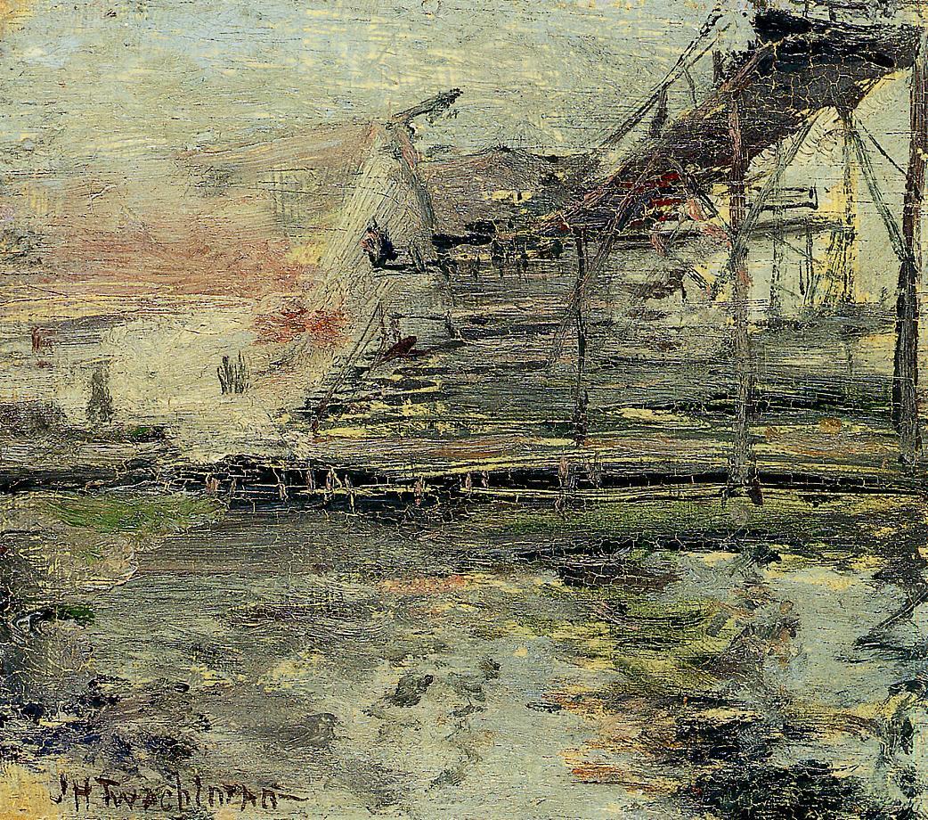 Harbor Scene, 1900-1902