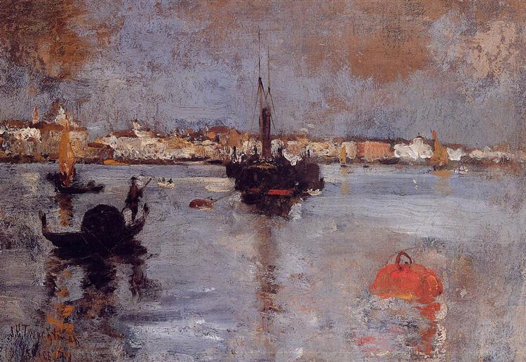 The Grand Canal, Venice, 1878 - John Henry Twachtman