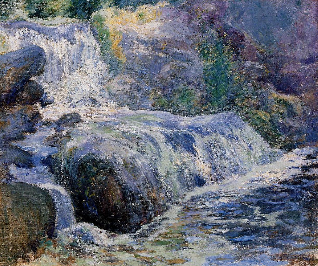 Waterfall, 1895-1899