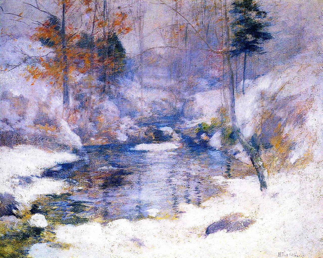 Winter Harmony, 1893-1900