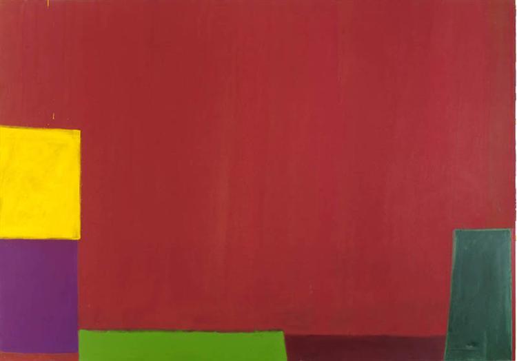 18.6.65, 1965 - John Hoyland