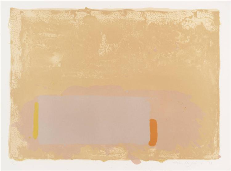 Brown-Beige-Pink, 1971 - Джон Хойленд