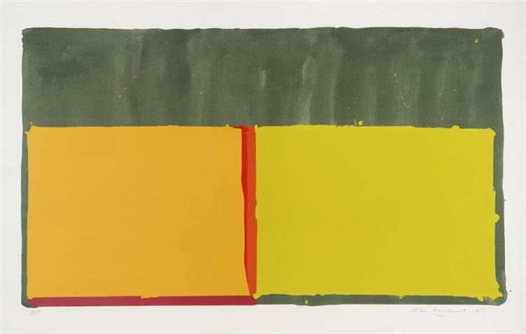Yellows, 1969 - John Hoyland