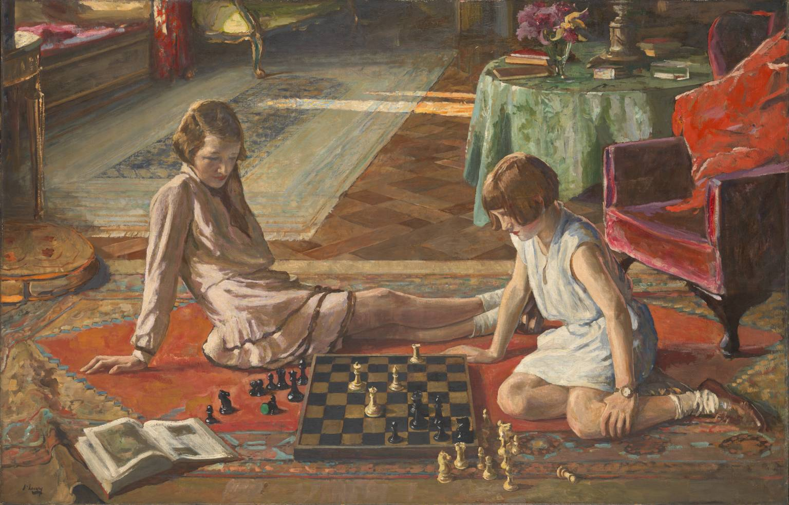 Image result for The Chess Players