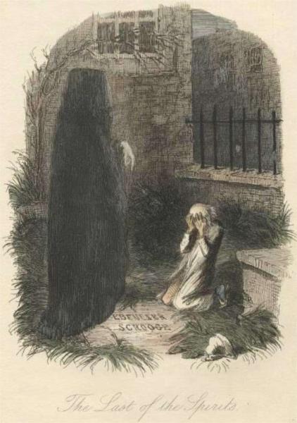 The Last of the Spirits - John Leech