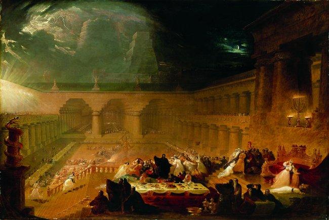 Belshazzar's Feast - John Martin