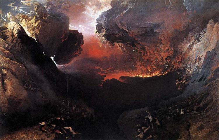 The Great Day of His Wrath - John Martin
