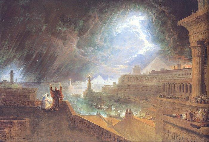 The Seventh Plague, 1823 - John Martin