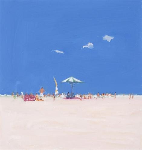 Summer Beach I - John Miller