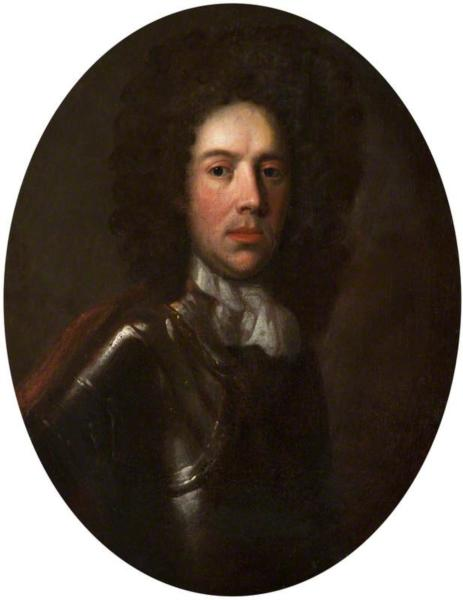 Portrait of a Man in Armour, 1690 - John Riley