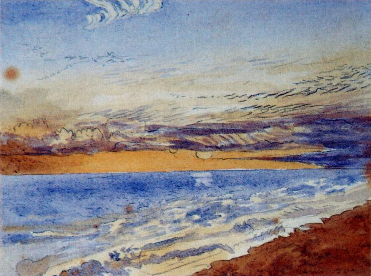 Seascale, 1889 - John Ruskin