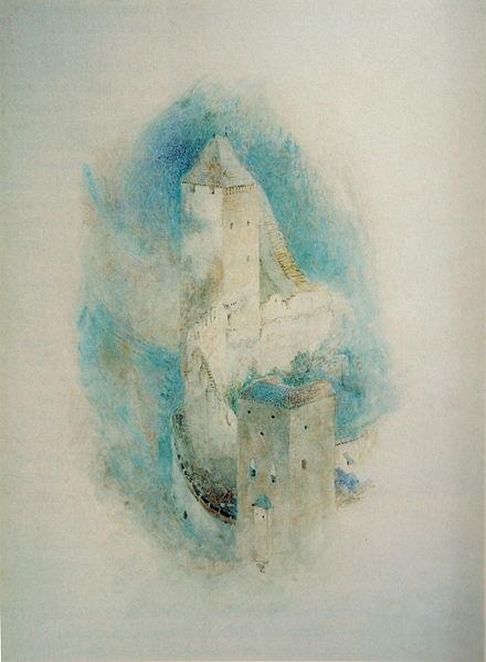Towers of Fribourg, 1854 - John Ruskin