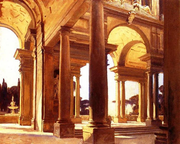 A Study of Architecture, Florence, c.1910 - John Singer Sargent