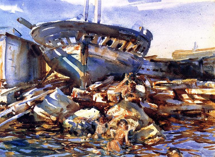 Flotsam and Jetsam, 1908 - John Singer Sargent